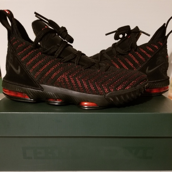 sale retailer daf95 220e9 Lebron 16 Fresh Bred *Factory Laced* NWT